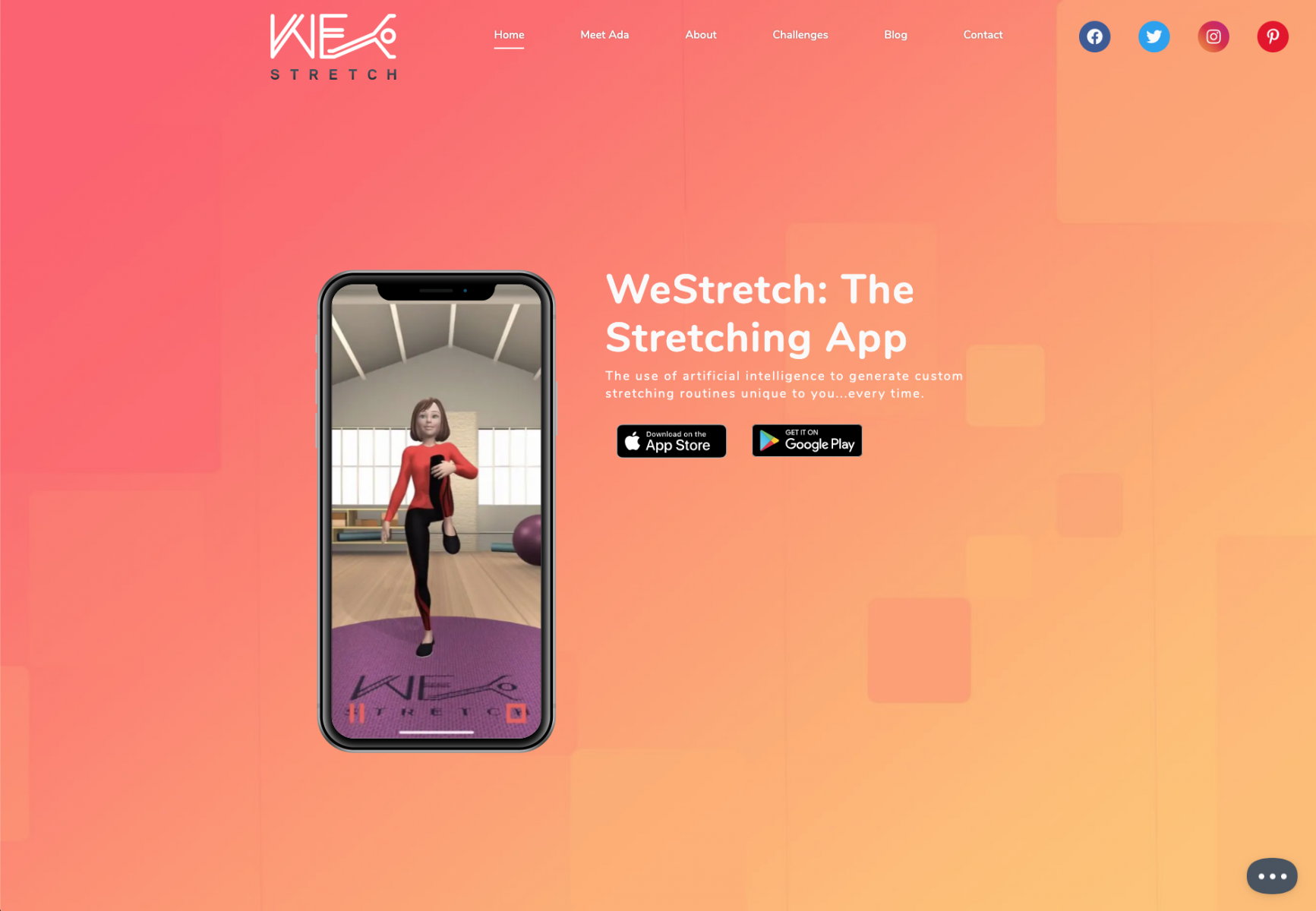 WeStretch: The Stretching App
