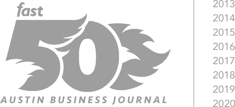 One of Austin Business Journal's 50 Fastest-Growing Companies in Central Texas from 2013 to 2018
