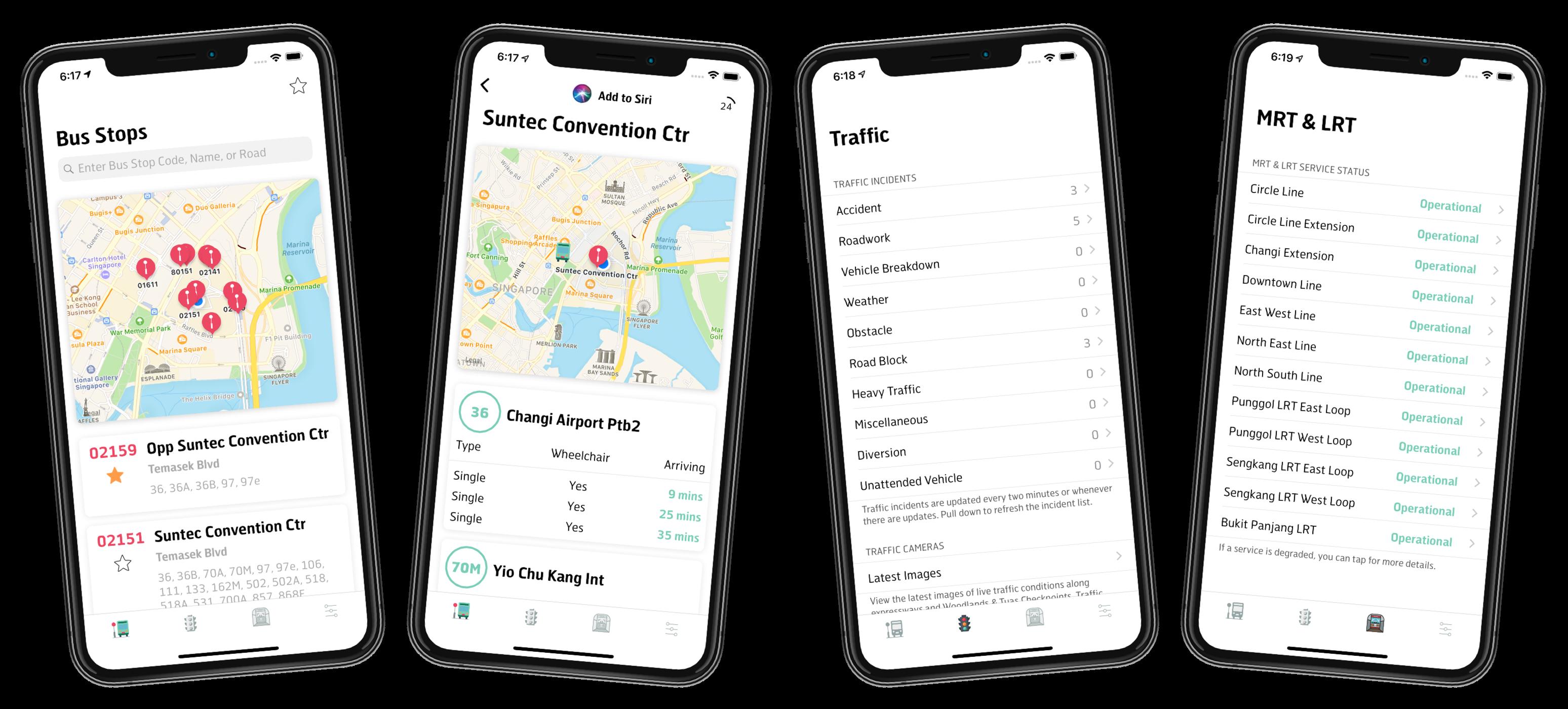 Singapore Transit v2.0.0