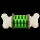Ring Holding Dog Toy - Bone, Medium