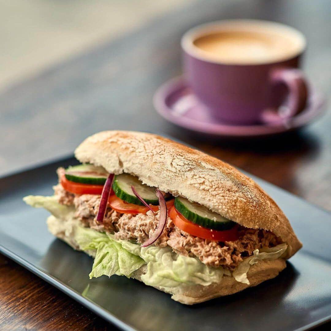 Bramhope Deli Tuna Sandwich