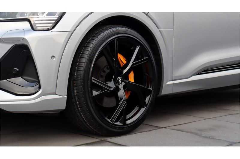 Audi e-tron Sportback 55 quattro S line excl. BTW Panoramadak, S Sportstoelen, Head Up display afbeelding 7