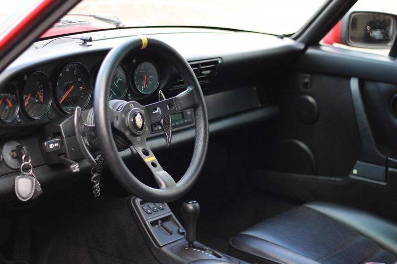 Porsche 911 964 Carrera 2 Historie bekend, Airco, Schuifdak, Leder interieur, Achterruitenwisser afbeelding 19