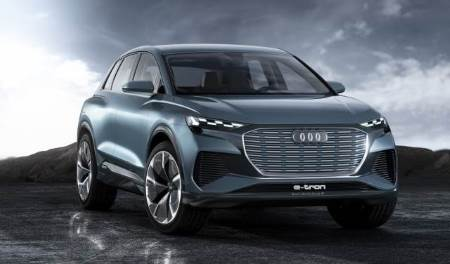 As mentioned earlier, Audi are aiming to compete with the upcoming Tesla Model Y via their small compact SUV Q4 e-tron, an all-electric car which supports 150 kW rapid DC charging.