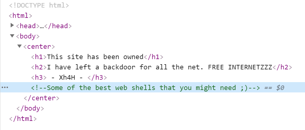 WebPage Source