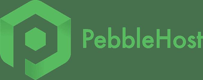 PebbleHost sponsor logo