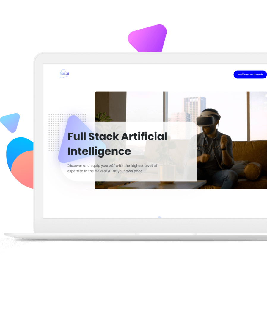 Custom Web Development for AI Education Company