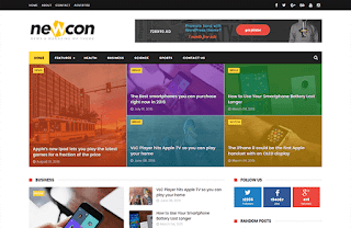 newcon-news-blogger-template