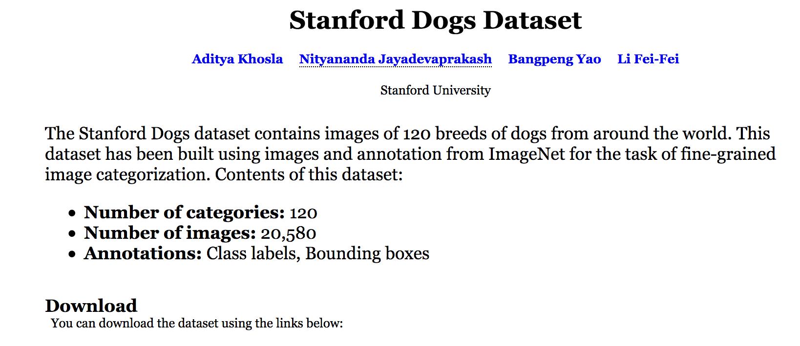 dog-data