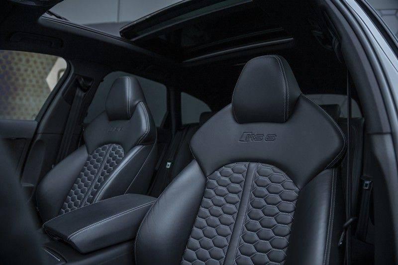 Audi RS6 Performance Avant 4.0 TFSI Quattro Pro Line Plus + BTW + KERAMISCHE REMMEN + MILLTEK + Garantie t/m 08-2022 afbeelding 3