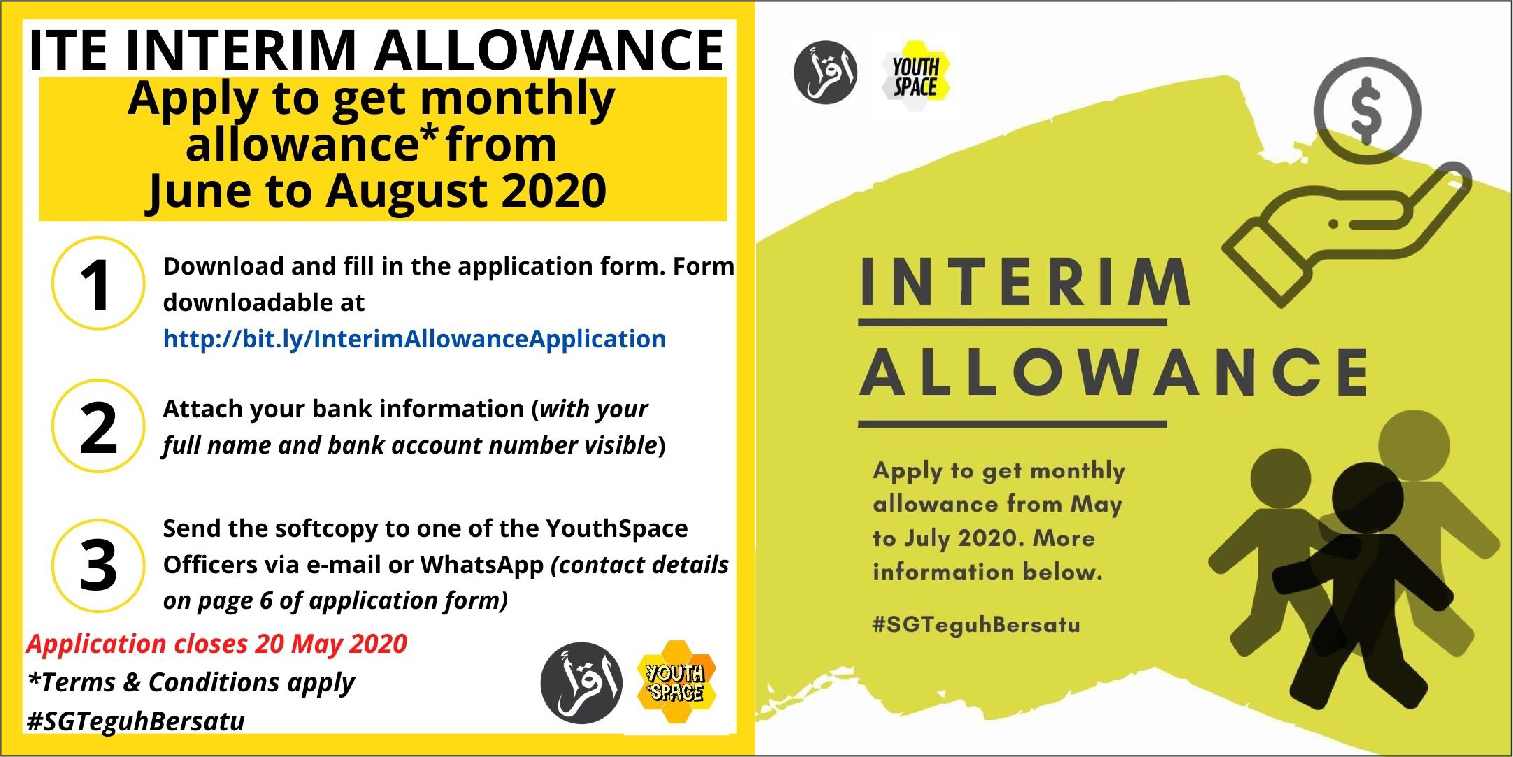 Interim Allowance for ITE Students