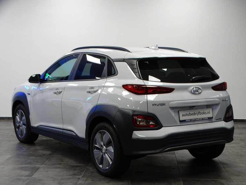 Hyundai Kona EV Premium 64 kWh Ex BTW 4% Bijtelling Leder Navi HUD Clima Camera afbeelding 13