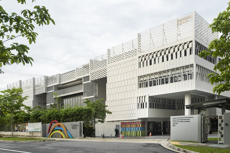 The Rainbow Centre extension