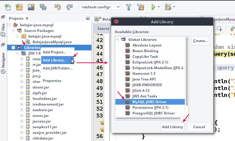 Menambahkan Library di Proyek Java Netbeans