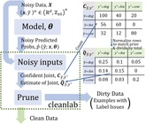 Find label issues with confident learning for NLP