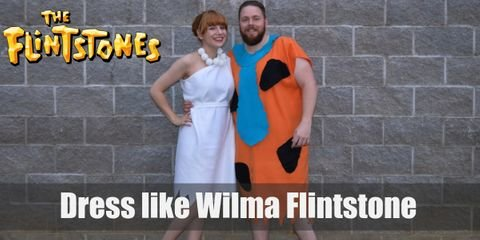 Wilma Flintstone brings back that 50's nostalgia with some good old fashion Stone Age vibe. All you need to look like this Bedrock beaut is a white, one-shoulder dress and faux pearls necklace.