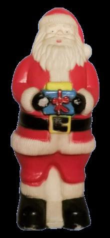 Santa with Gift photo