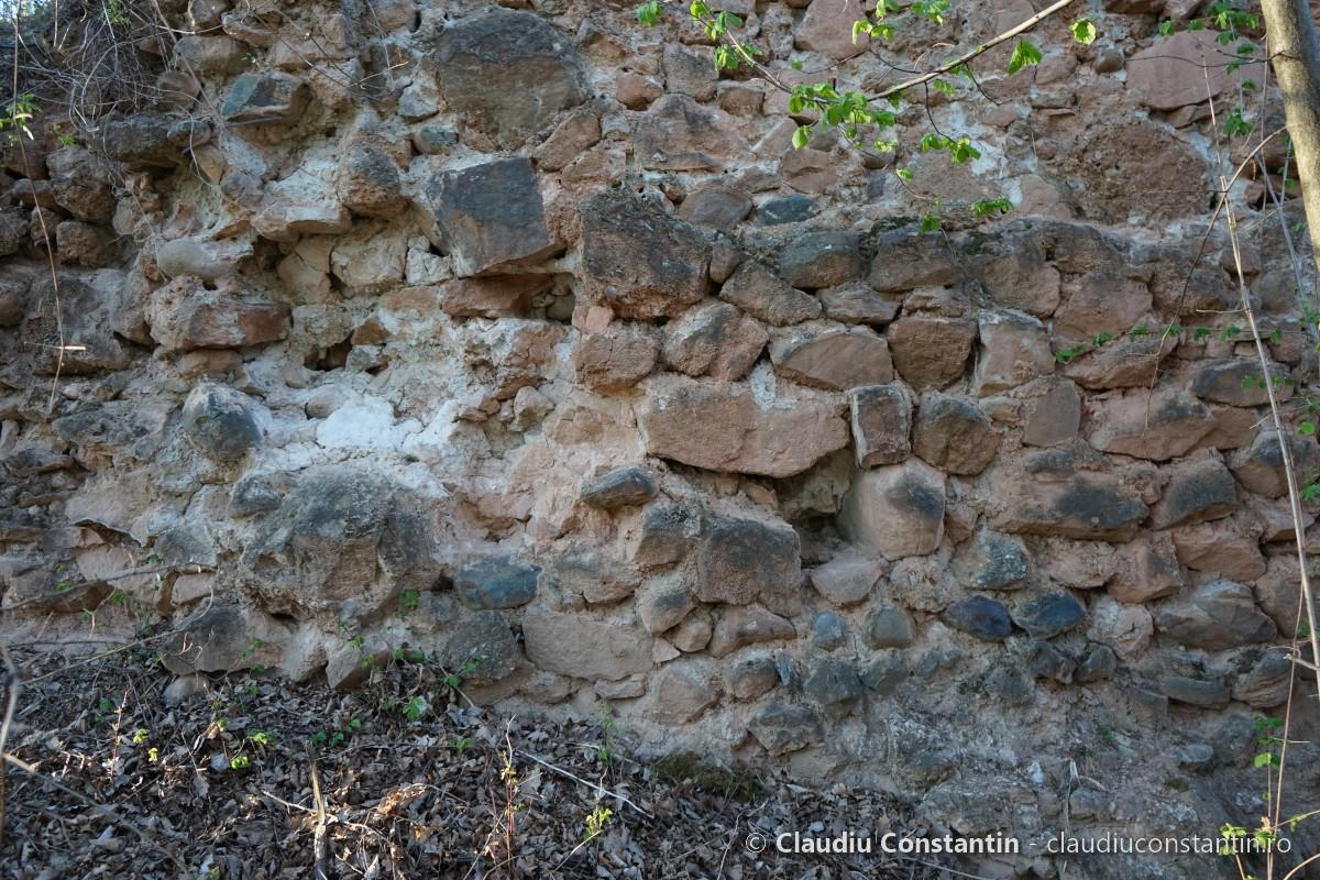 Ruinele Castelului Meledic, Mânzălești
