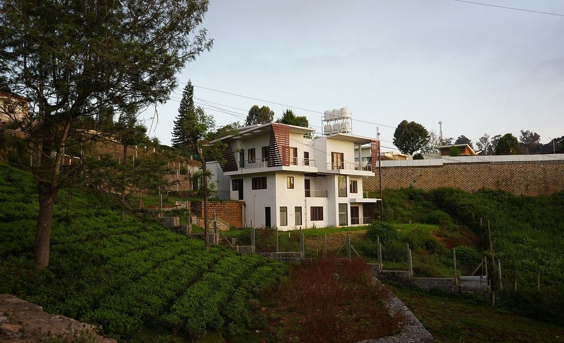 House view from tea estate