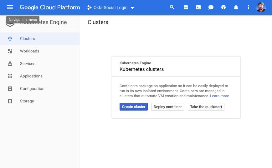 Create Cluster on Google Cloud