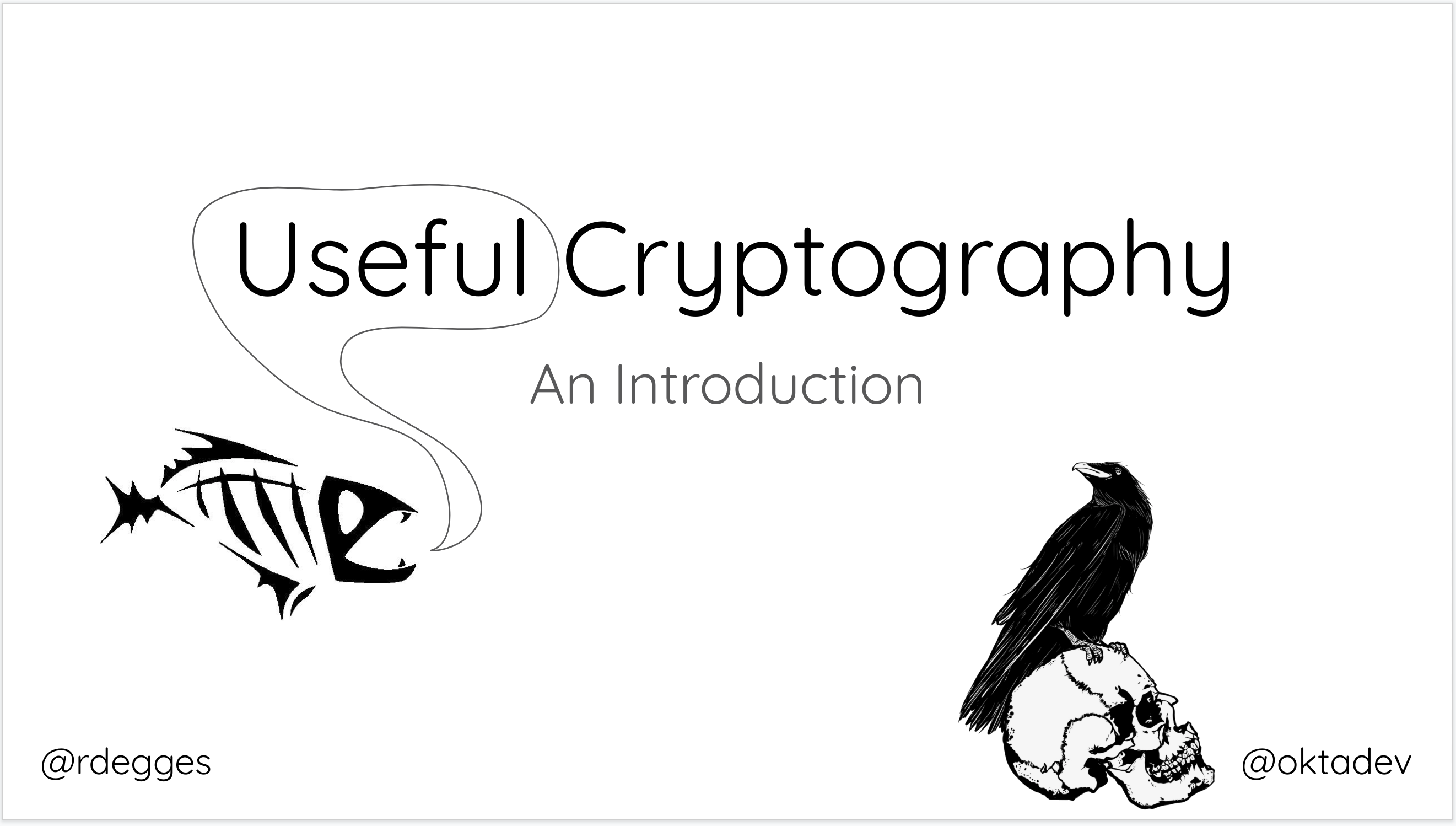 useful cryptography