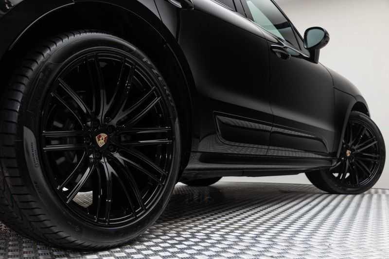 "Porsche Macan 3.0 S 354pk PDK Black Design Nieuw Model Luchtvering Panoramadak SportChrono ACC Sportleder+Memory Keyless Full-Led Navi/High Privatglass AppleCarplay 21""Turbo Pdc afbeelding 24"