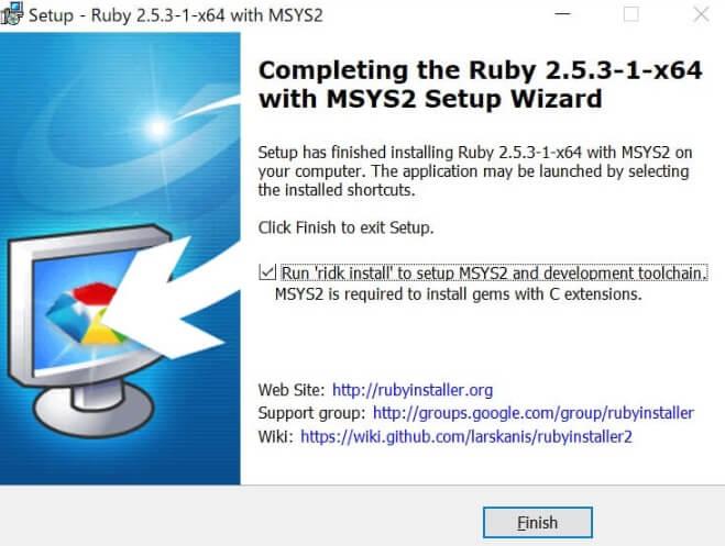 Rubyインストール6