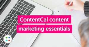 Content marketing essentials image