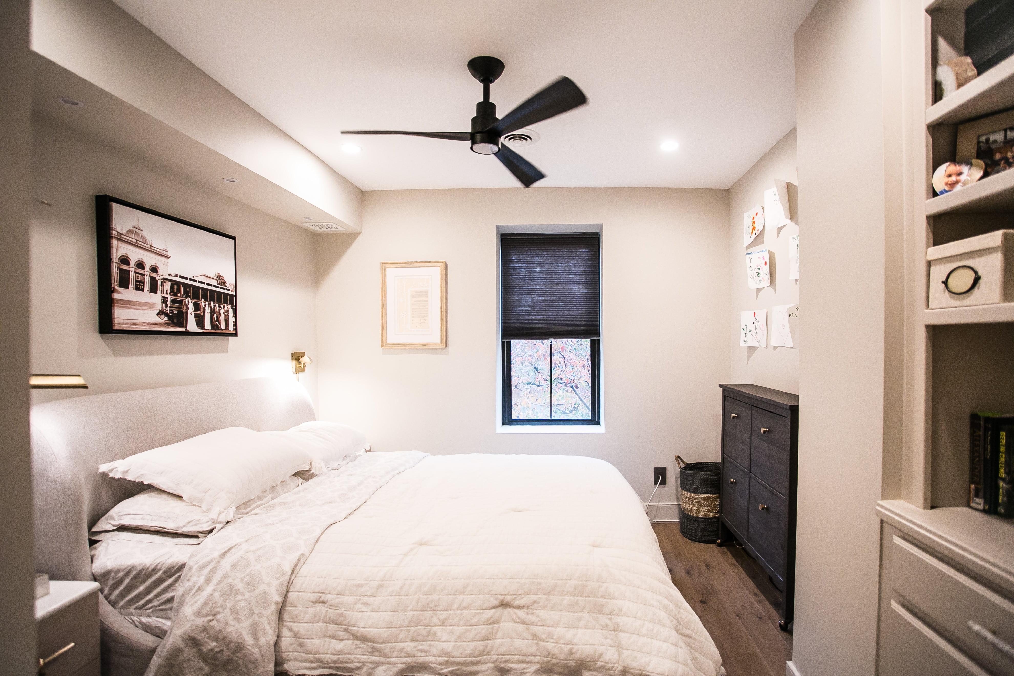 after renovation master bedroom