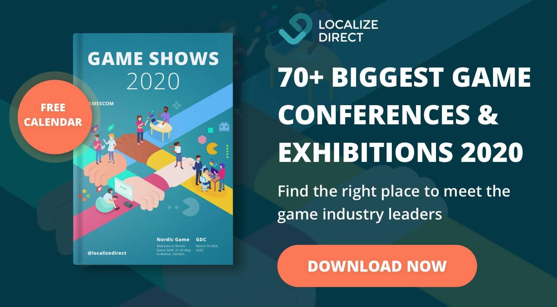 Games Industry Calendar: Events 2020