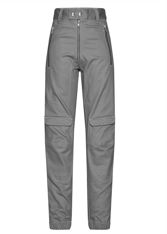 YOLANDA trouser in grey. GmbH Spring/Summer 2021 'RITUALS OF RESISTANCE'