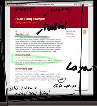 exemple FLOW3