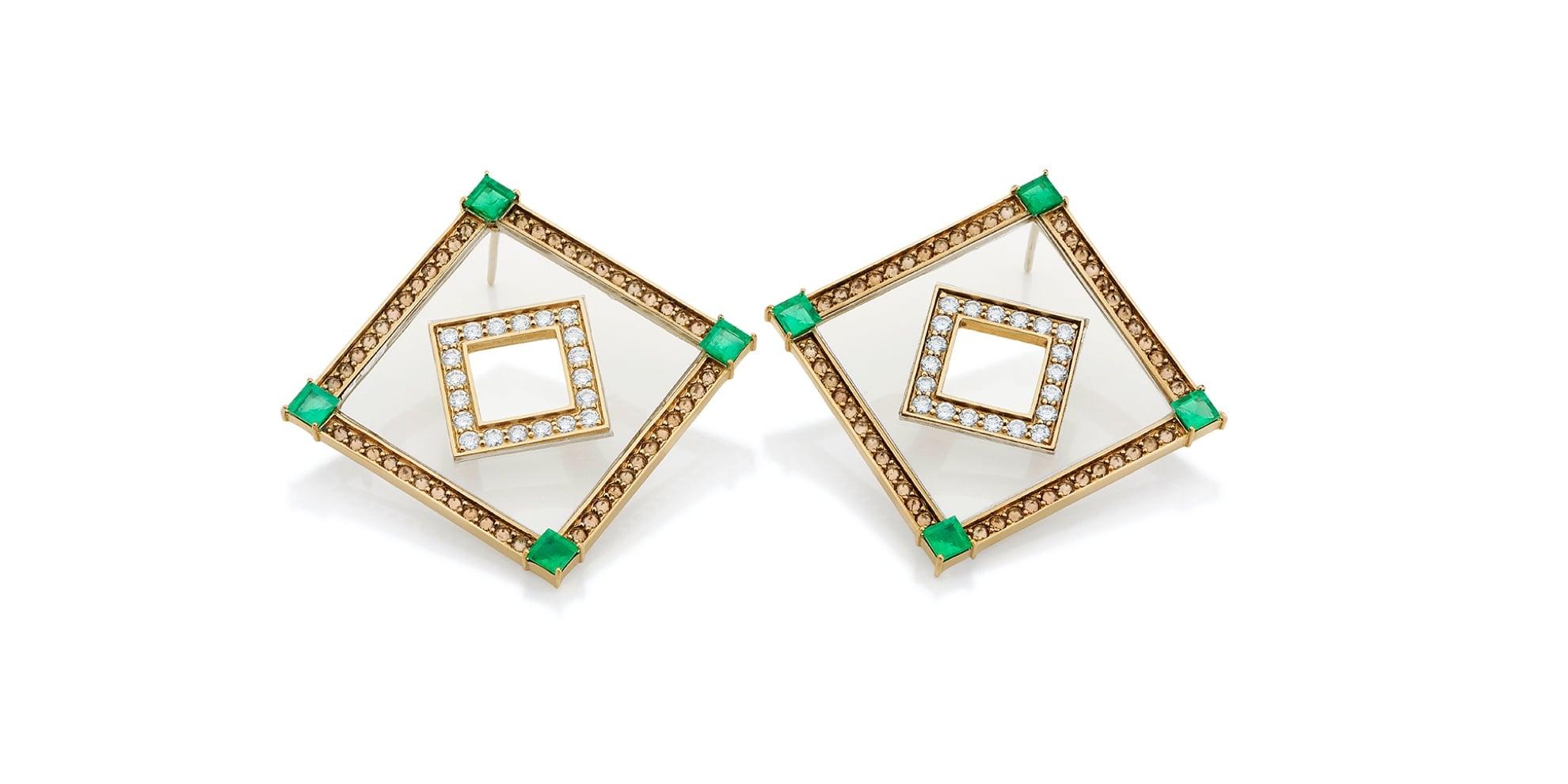 Oito Estrela Earrings