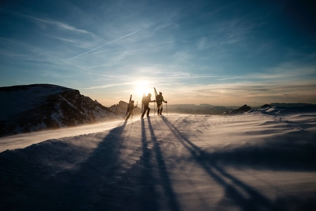 Skifahren Hobby
