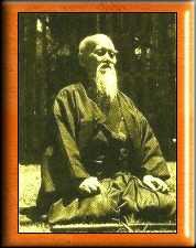 Maître Morihei UESHIBA (1883-1969) fondateur de l'Aïkido