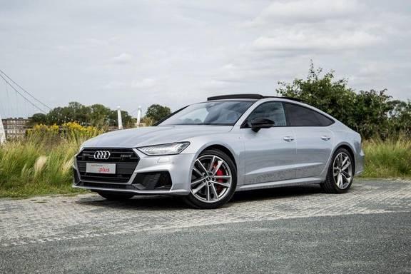 Audi A7 Sportback 55 TFSI e 367 pk quattro Competition   Garantie tot 07-2025   Adaptief demping systeem   Pano.dak   Head-up Display   Nachtzicht-assistent    Trekhaak   B&O Sound  