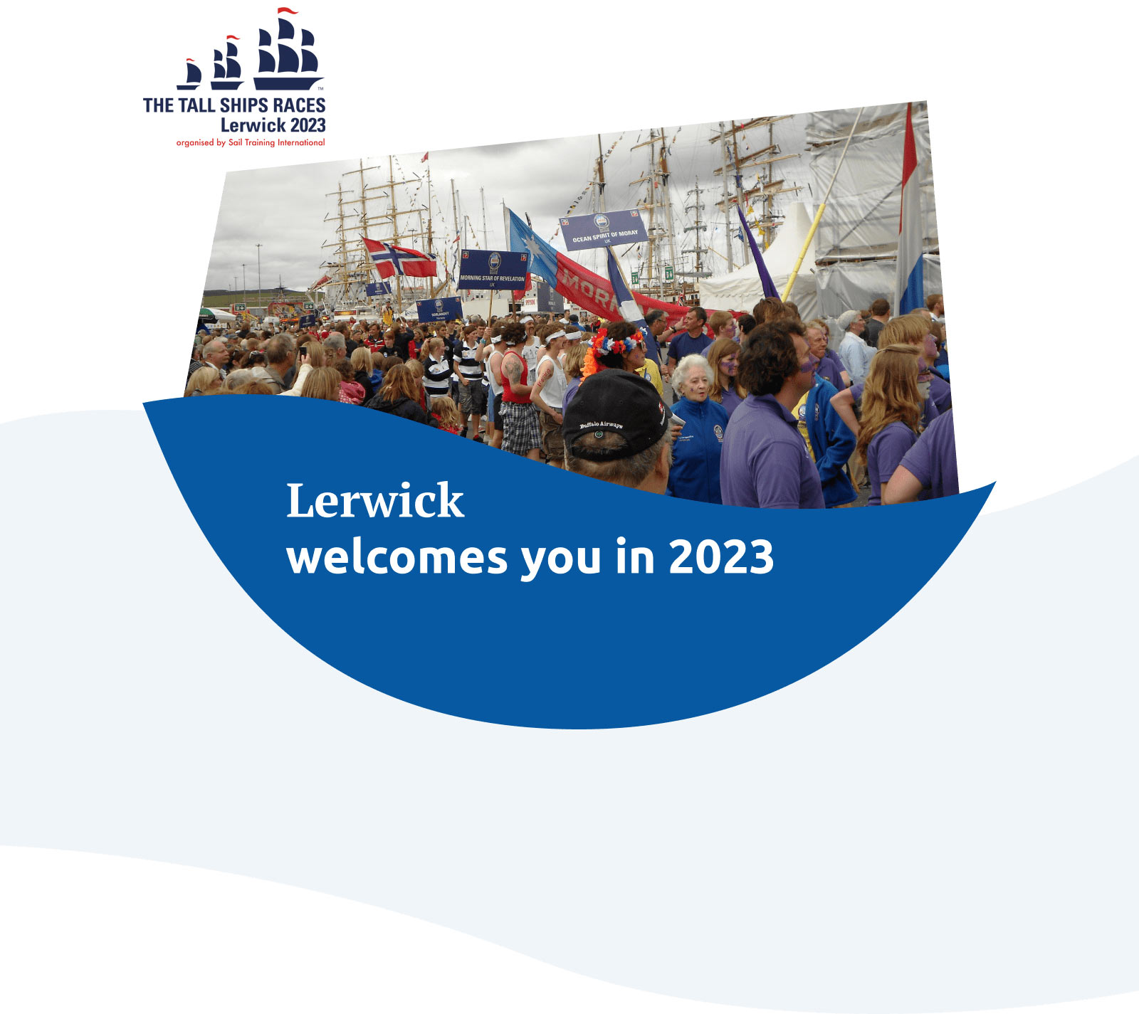 Lerwick welcomes you in 2023