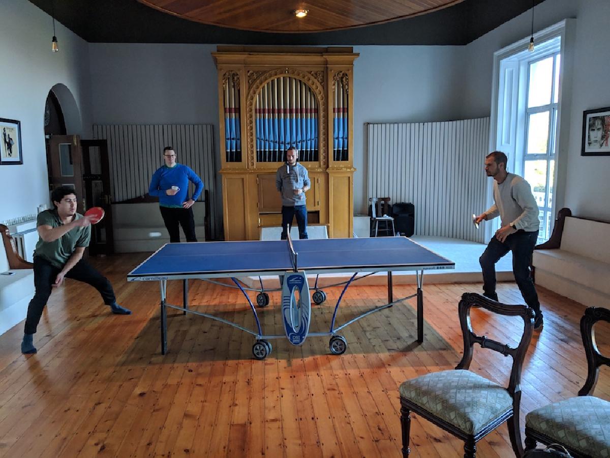 Jetstack ping pong championships, Dublin 2018
