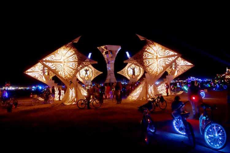 Burning Man Helios