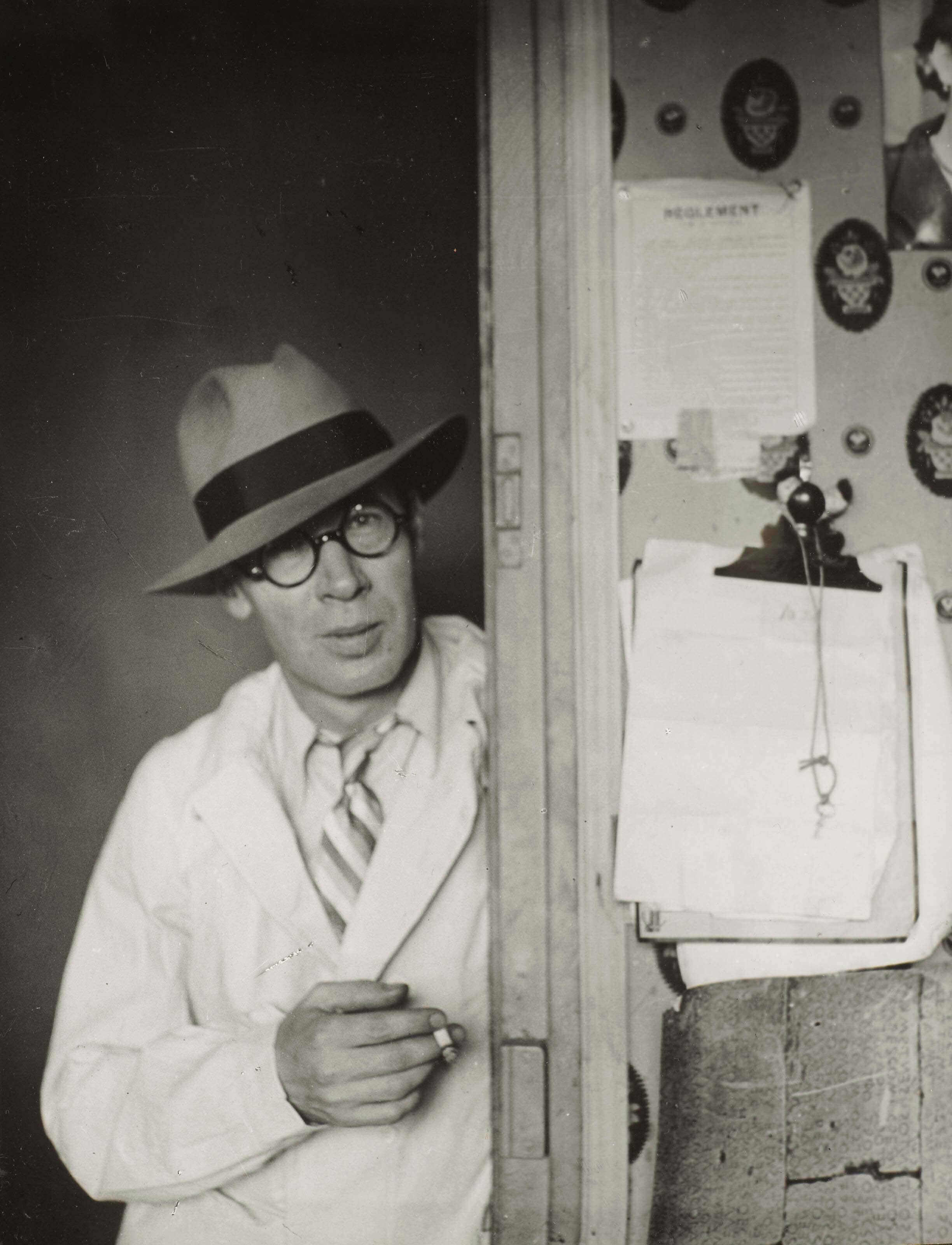 Генри Миллер вПариже в1931году. Фото: Brassai / infobae.com