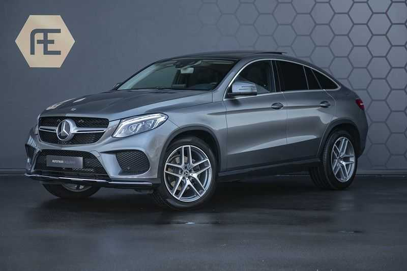 Mercedes-Benz GLE Coupé 350d 4-MATIC AMG BTW + Trekhaak + Panoramadak afbeelding 3