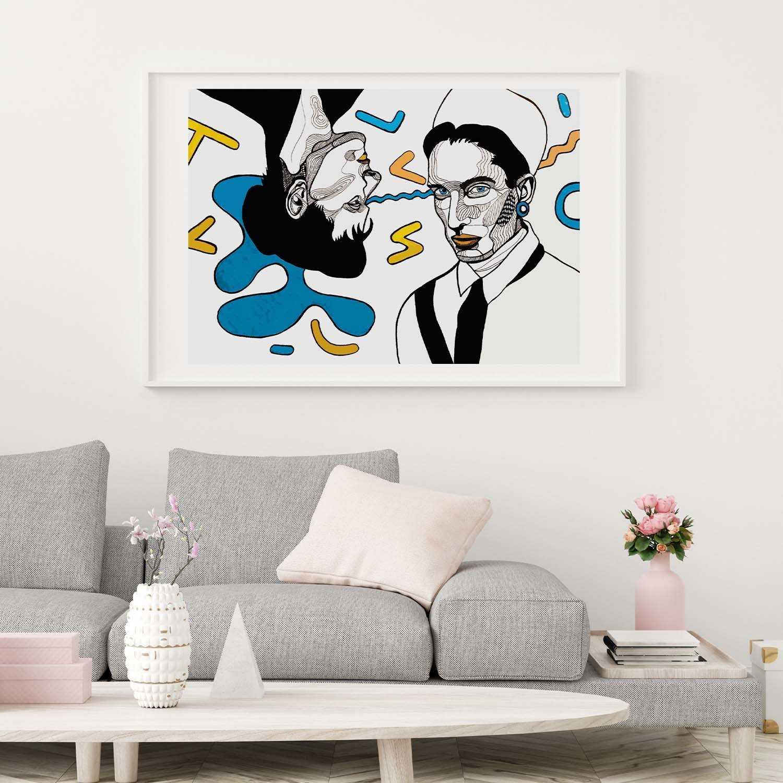 'Globular Organs' Giclée Art Print