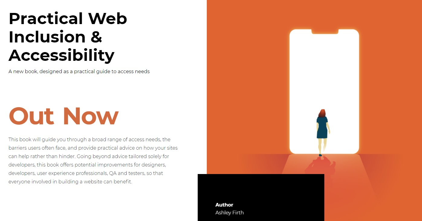 Practical Web Inclusion & Accessibility by Ashley Firth