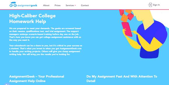 assignmentgeek.com review