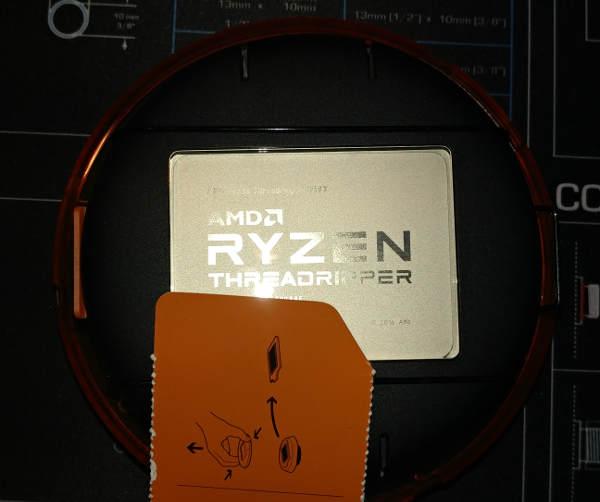 Encased CPU