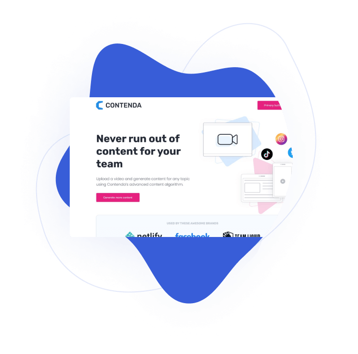 Landing page preview