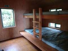 Mt Heale Hut bunk beds