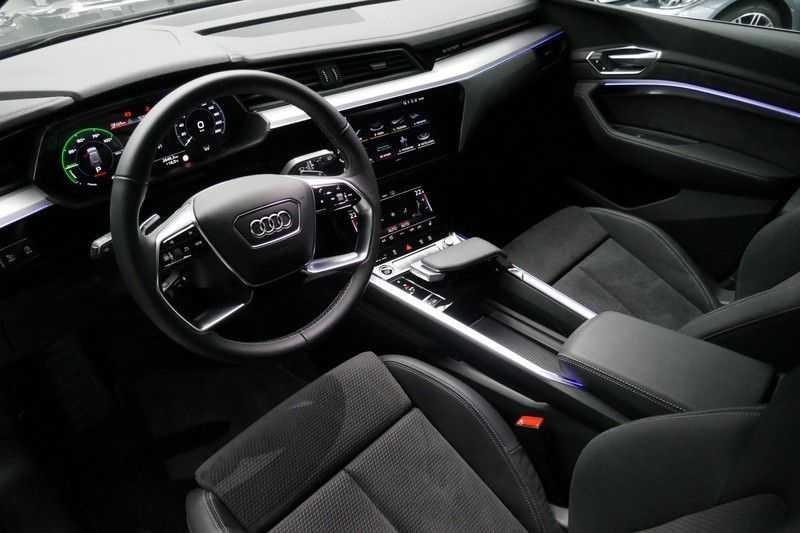 Audi e-tron 55 quattro S edition MARGE ALL IN PRIJS afbeelding 14