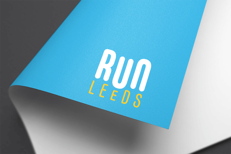 Run Leeds logo on paper