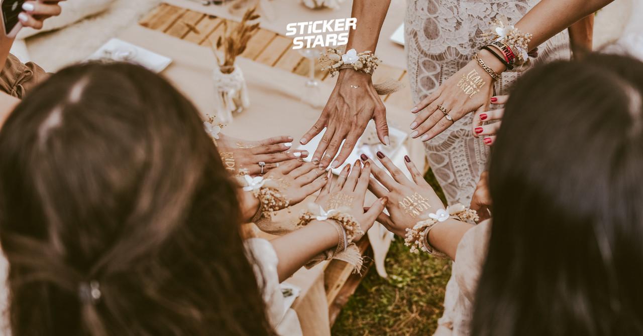 Willst du meine Brautjungfer sein: Passende Armbänder für deine Brautjungfern